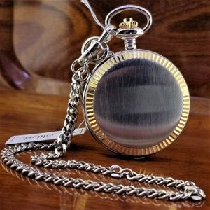 NEW COLIBRI Presidential Day Date Pocket Watch